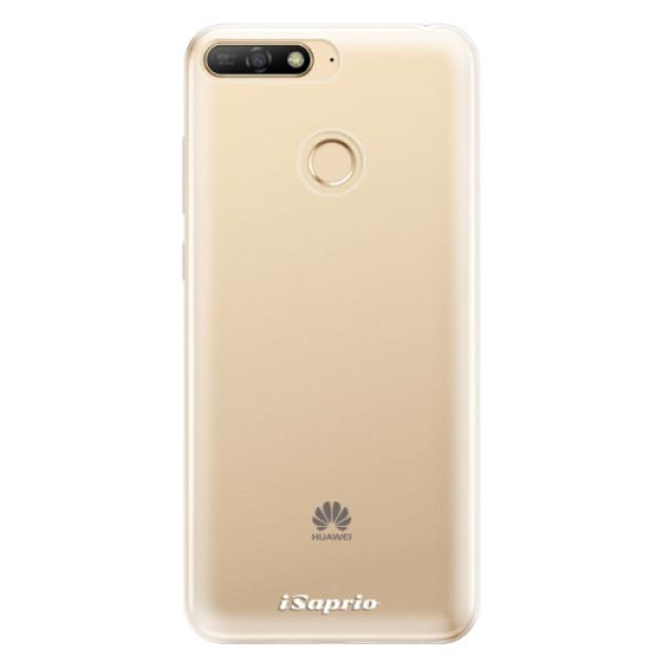 Odolné silikonové pouzdro iSaprio - 4Pure - mléčný bez potisku - Huawei Y6 Prime 2018