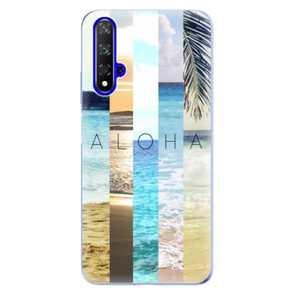 Odolné silikonové pouzdro iSaprio - Aloha 02 - Huawei Honor 20