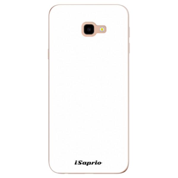 Odolné silikonové pouzdro iSaprio - 4Pure - bílý - Samsung Galaxy J4+