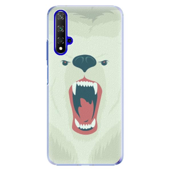 Plastové pouzdro iSaprio - Angry Bear - Huawei Honor 20