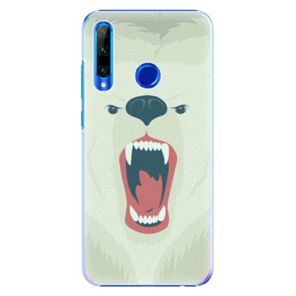 Plastové pouzdro iSaprio - Angry Bear - Huawei Honor 20 Lite