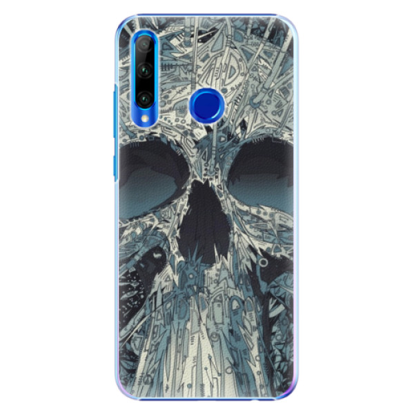 Plastové pouzdro iSaprio - Abstract Skull - Huawei Honor 20 Lite
