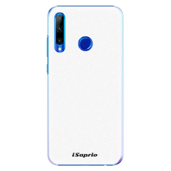 Plastové pouzdro iSaprio - 4Pure - bílý - Huawei Honor 20 Lite