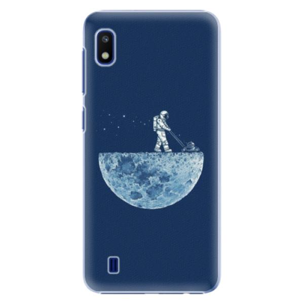 Levně Plastové pouzdro iSaprio - Moon 01 - Samsung Galaxy A10
