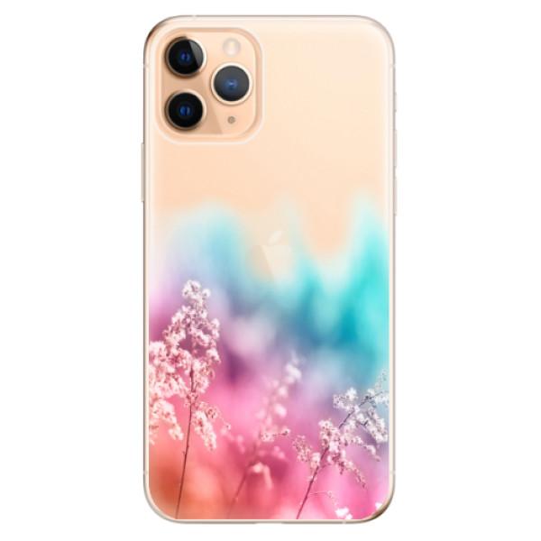 Odolné silikonové pouzdro iSaprio - Rainbow Grass - iPhone 11 Pro
