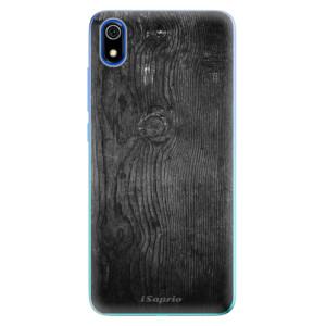 Silikonové odolné pouzdro iSaprio - Black Wood 13 na mobil Xiaomi Redmi 7A
