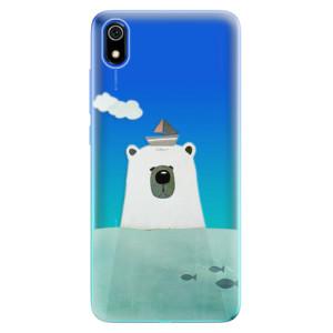 Silikonové odolné pouzdro iSaprio - Bear With Boat na mobil Xiaomi Redmi 7A