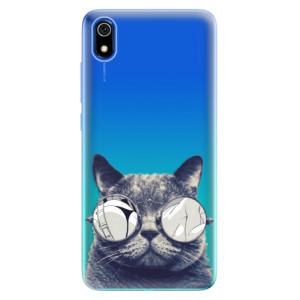 Silikonové odolné pouzdro iSaprio - Crazy Cat 01 na mobil Xiaomi Redmi 7A