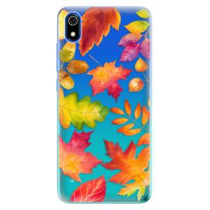 Silikonové odolné pouzdro iSaprio - Autumn Leaves 01 na mobil Xiaomi Redmi 7A