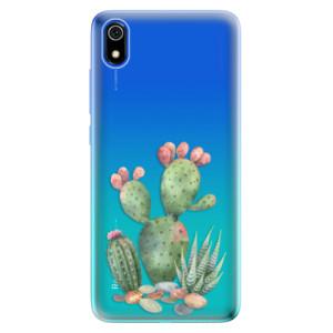 Silikonové odolné pouzdro iSaprio - Cacti 01 na mobil Xiaomi Redmi 7A