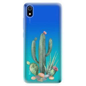 Silikonové odolné pouzdro iSaprio - Cacti 02 na mobil Xiaomi Redmi 7A