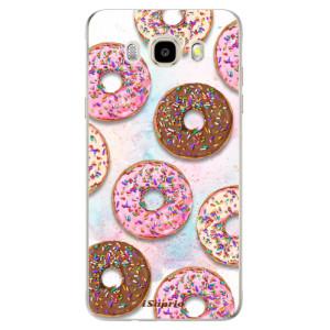 Odolné silikonové pouzdro iSaprio - Donuts 11 na mobil Samsung Galaxy J5 2016