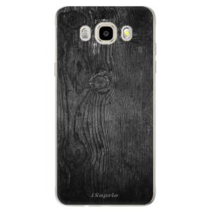 Odolné silikonové pouzdro iSaprio - Black Wood 13 na mobil Samsung Galaxy J5 2016
