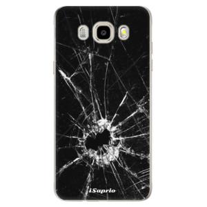 Odolné silikonové pouzdro iSaprio - Broken Glass 10 na mobil Samsung Galaxy J5 2016