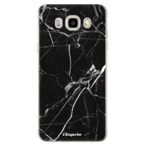 Odolné silikonové pouzdro iSaprio - Black Marble 18 na mobil Samsung Galaxy J5 2016