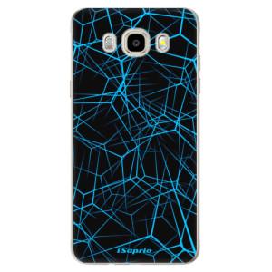 Odolné silikonové pouzdro iSaprio - Abstract Outlines 12 na mobil Samsung Galaxy J5 2016