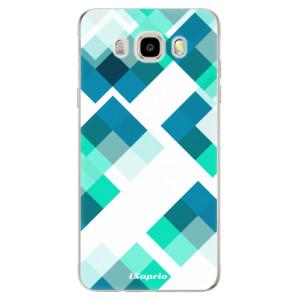 Odolné silikonové pouzdro iSaprio - Abstract Squares 11 na mobil Samsung Galaxy J5 2016