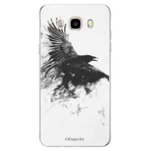 Odolné silikonové pouzdro iSaprio - Dark Bird 01 na mobil Samsung Galaxy J5 2016