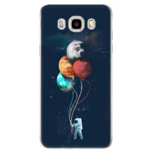 Odolné silikonové pouzdro iSaprio - Balloons 02 na mobil Samsung Galaxy J5 2016