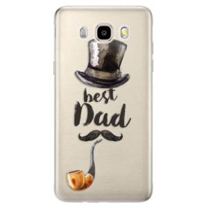 Odolné silikonové pouzdro iSaprio - Best Dad na mobil Samsung Galaxy J5 2016