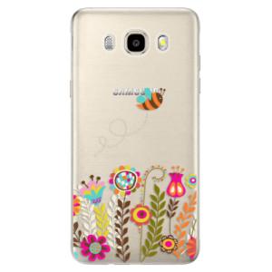 Odolné silikonové pouzdro iSaprio - Bee 01 na mobil Samsung Galaxy J5 2016