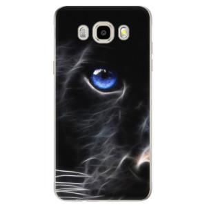 Odolné silikonové pouzdro iSaprio - Black Puma na mobil Samsung Galaxy J5 2016