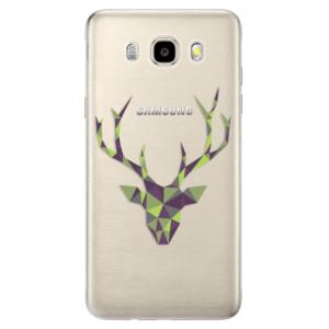Odolné silikonové pouzdro iSaprio - Deer Green na mobil Samsung Galaxy J5 2016