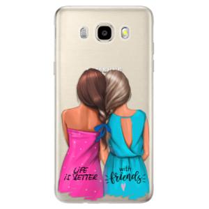 Odolné silikonové pouzdro iSaprio - Best Friends na mobil Samsung Galaxy J5 2016