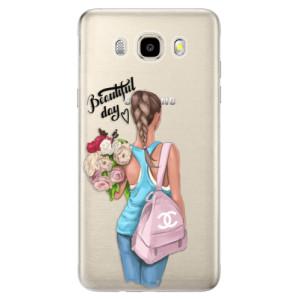Odolné silikonové pouzdro iSaprio - Beautiful Day na mobil Samsung Galaxy J5 2016