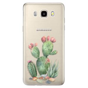 Odolné silikonové pouzdro iSaprio - Cacti 01 na mobil Samsung Galaxy J5 2016