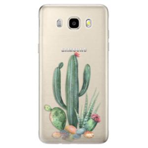 Odolné silikonové pouzdro iSaprio - Cacti 02 na mobil Samsung Galaxy J5 2016
