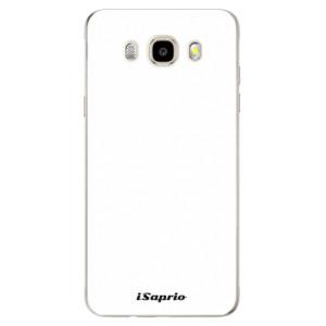 Odolné silikonové pouzdro iSaprio - 4Pure - bílé na mobil Samsung Galaxy J5 2016