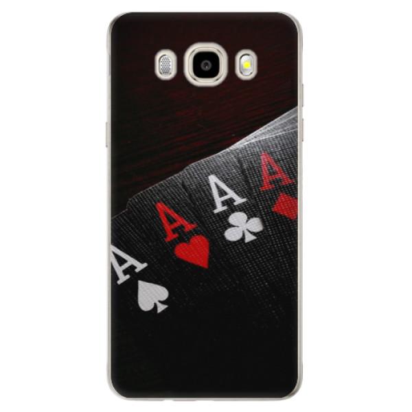 Odolné silikonové pouzdro iSaprio - Poker - Samsung Galaxy J5 2016