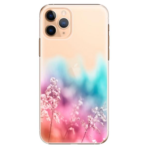 Plastové pouzdro iSaprio - Rainbow Grass - iPhone 11 Pro