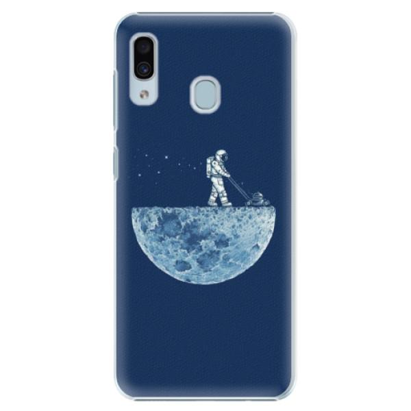 Levně Plastové pouzdro iSaprio - Moon 01 - Samsung Galaxy A20