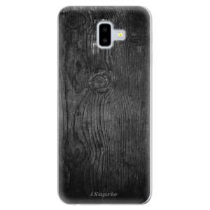 Odolné silikonové pouzdro iSaprio - Black Wood 13 - na mobil Samsung Galaxy J6 Plus