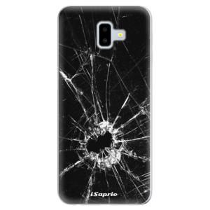 Odolné silikonové pouzdro iSaprio - Broken Glass 10 - na mobil Samsung Galaxy J6 Plus