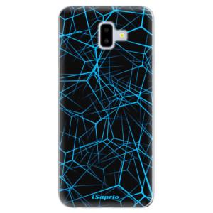 Odolné silikonové pouzdro iSaprio - Abstract Outlines 12 - na mobil Samsung Galaxy J6 Plus