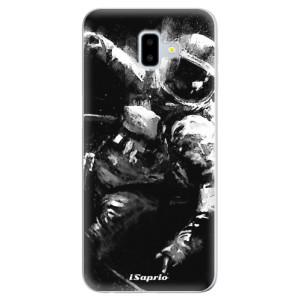 Odolné silikonové pouzdro iSaprio - Astronaut 02 - na mobil Samsung Galaxy J6 Plus