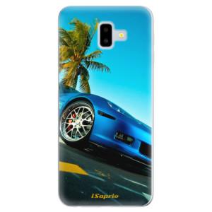 Odolné silikonové pouzdro iSaprio - Car 10 - na mobil Samsung Galaxy J6 Plus