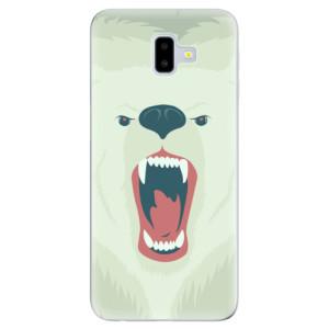 Odolné silikonové pouzdro iSaprio - Angry Bear - na mobil Samsung Galaxy J6 Plus