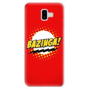 Odolné silikonové pouzdro iSaprio - Bazinga 01 - na mobil Samsung Galaxy J6 Plus