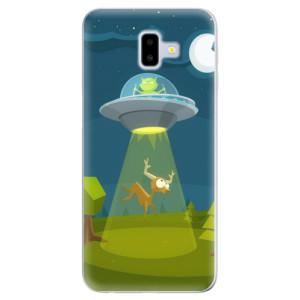 Odolné silikonové pouzdro iSaprio - Alien 01 - na mobil Samsung Galaxy J6 Plus