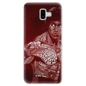 Odolné silikonové pouzdro iSaprio - Bruce Lee - na mobil Samsung Galaxy J6 Plus