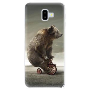 Odolné silikonové pouzdro iSaprio - Bear 01 - na mobil Samsung Galaxy J6 Plus