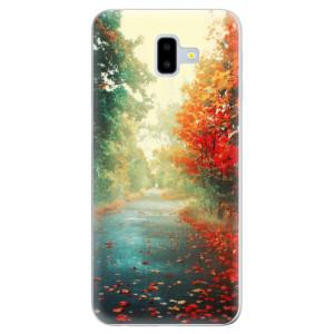 Odolné silikonové pouzdro iSaprio - Autumn 03 - na mobil Samsung Galaxy J6 Plus
