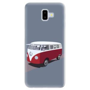 Odolné silikonové pouzdro iSaprio - VW Bus - na mobil Samsung Galaxy J6 Plus