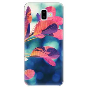 Odolné silikonové pouzdro iSaprio - Autumn 01 - na mobil Samsung Galaxy J6 Plus