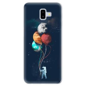 Odolné silikonové pouzdro iSaprio - Balloons 02 - na mobil Samsung Galaxy J6 Plus