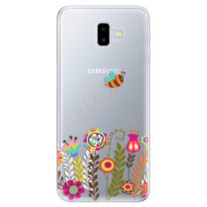 Odolné silikonové pouzdro iSaprio - Bee 01 - na mobil Samsung Galaxy J6 Plus